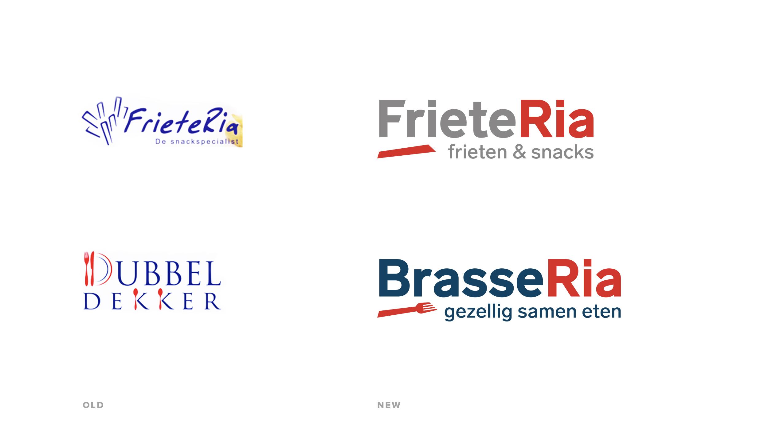 Oud & nieuwe logo's