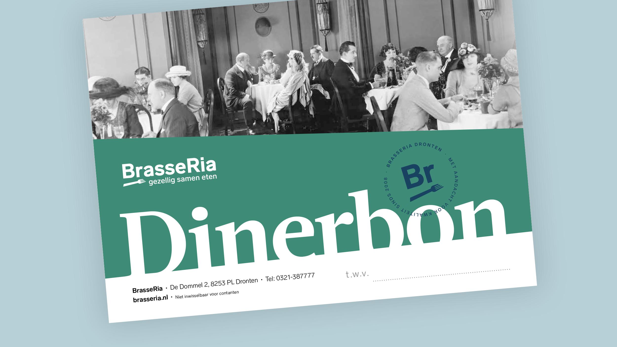 BrasseRia dinerbon