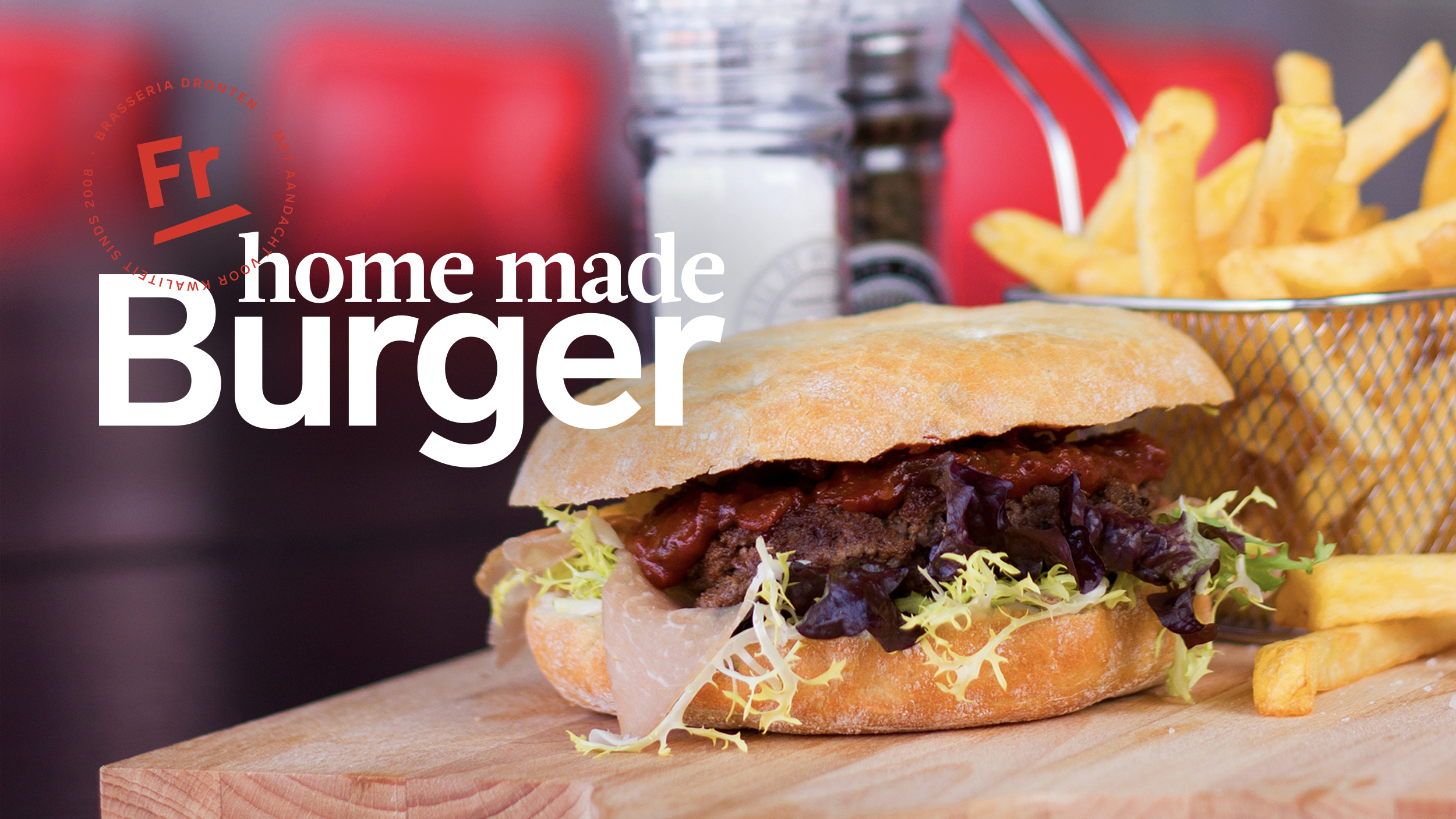 Stel je eigen Home Made Burger samen!