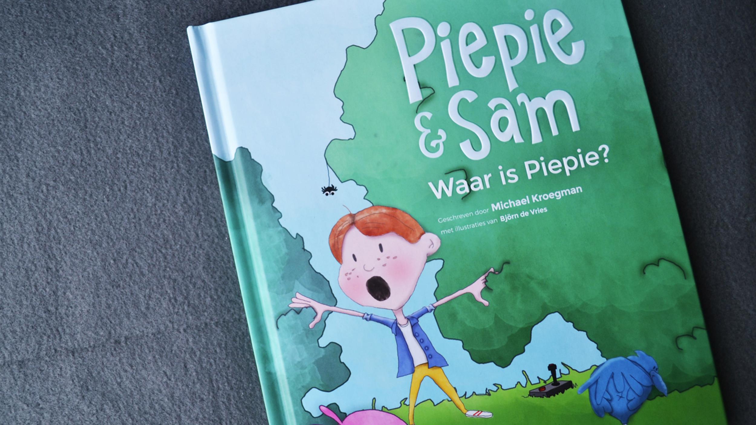 #1 Piepie & Sam 'Waar is Piepie' – cover