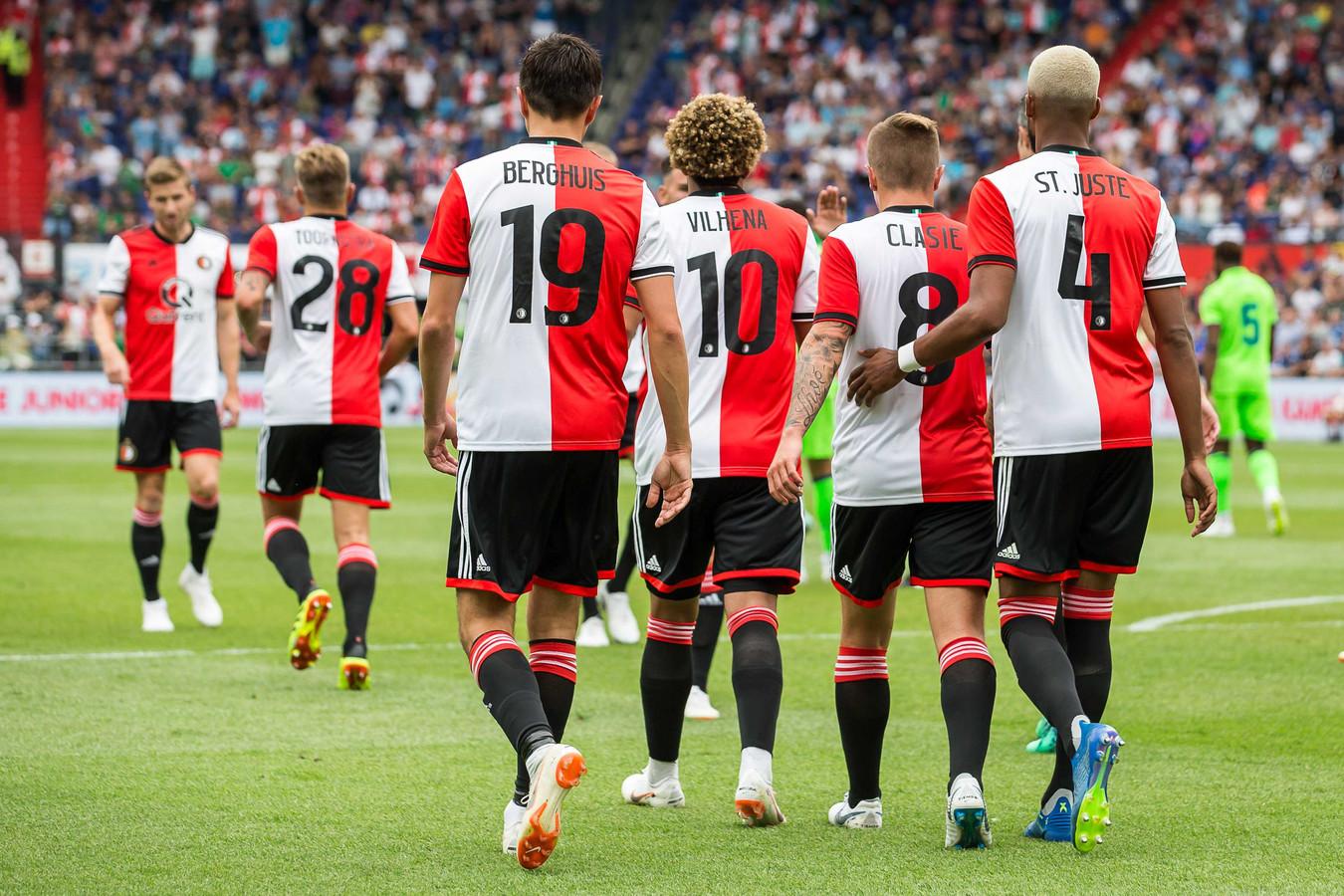 Rugnummers Feyenoord