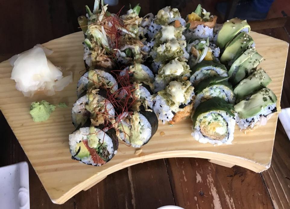 Sushi Momo. - Amazing vegetarian sushi
