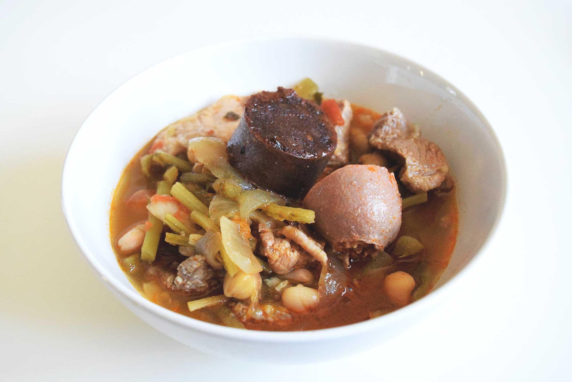 Berza Gitana Recipe Receta