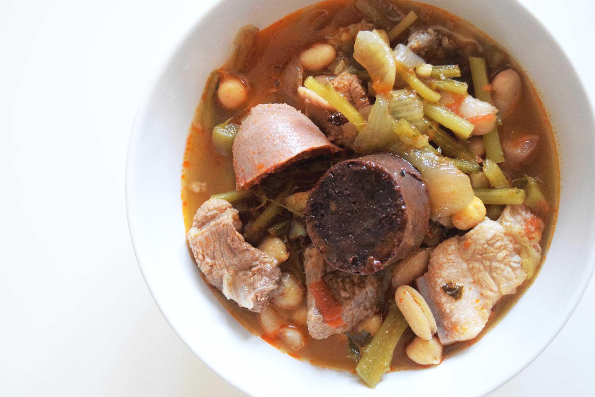 Berza Stew from Cadiz Recipe