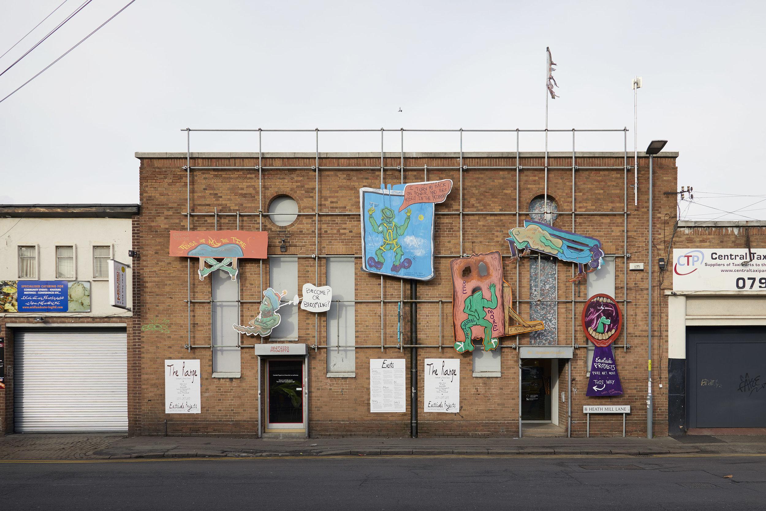 BAME Storm , Hardeep Pandhal, Eastside Projects, Birmingham. Image by Stuart Whipps