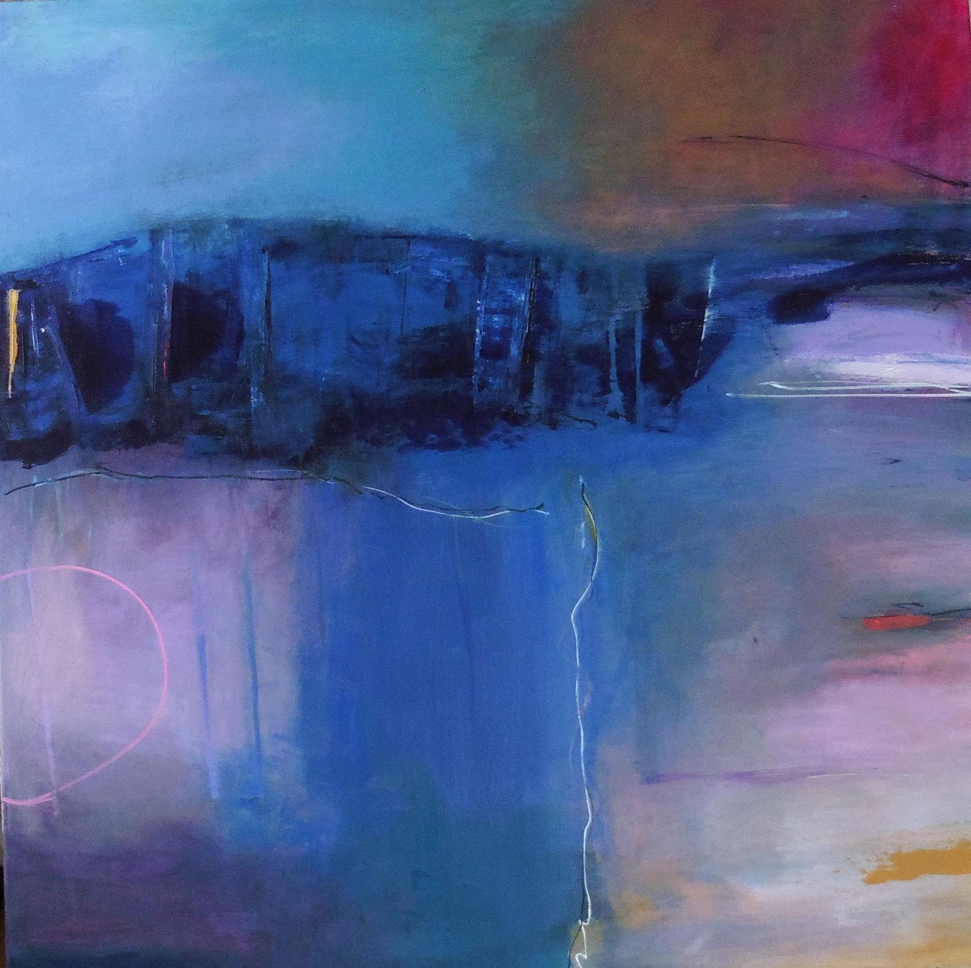 Distance,  Myfanwy Williams, acrylic on canvas