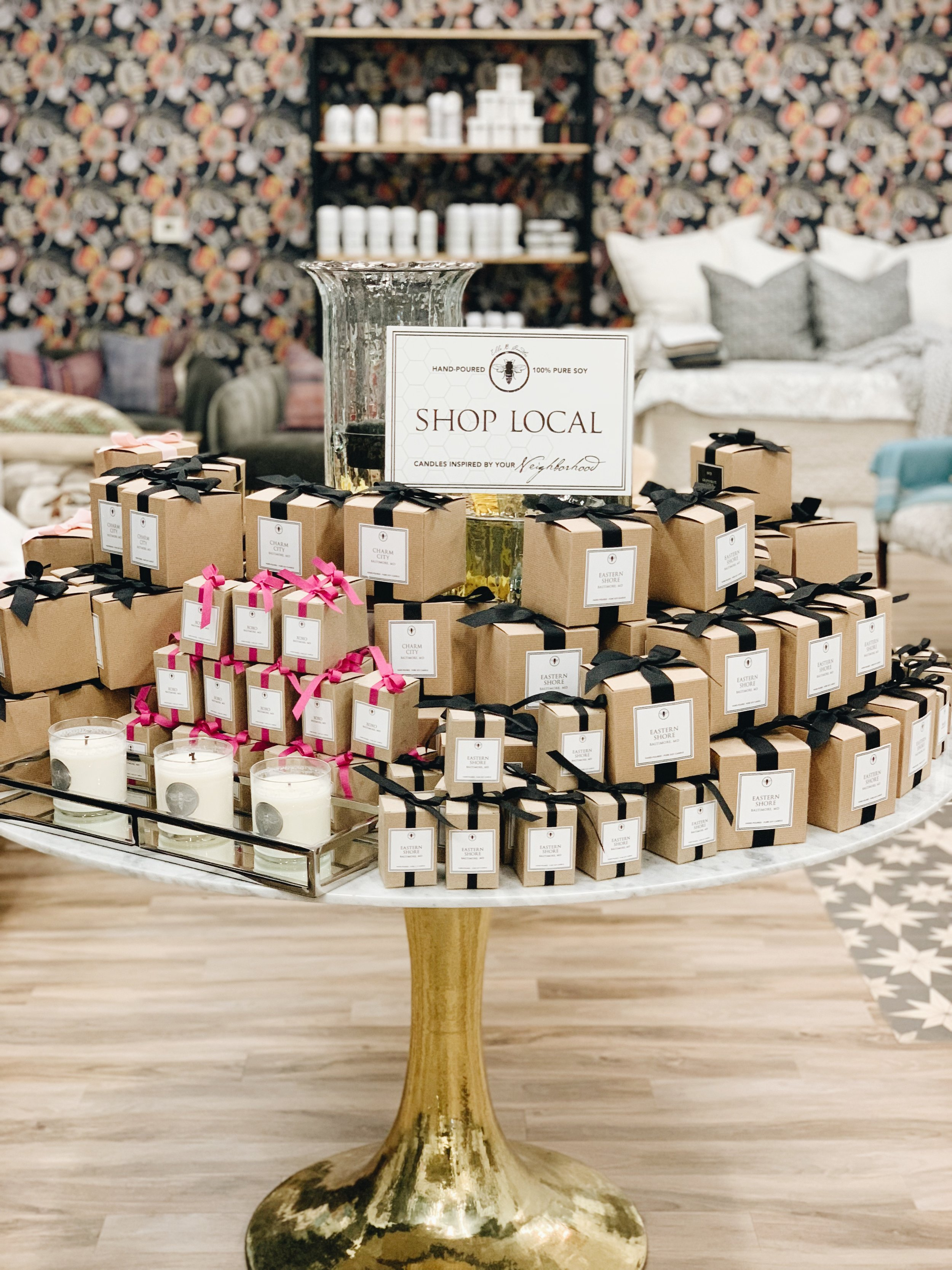 shop local soy candles