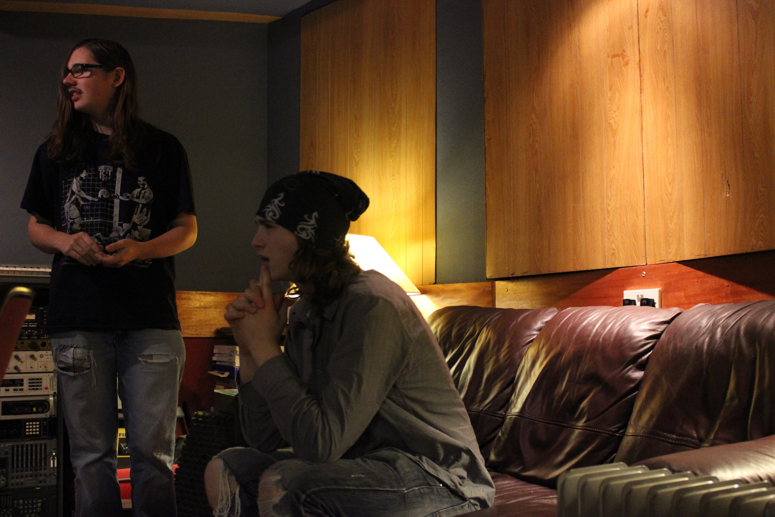- We thought intensely about the music we had recorded.