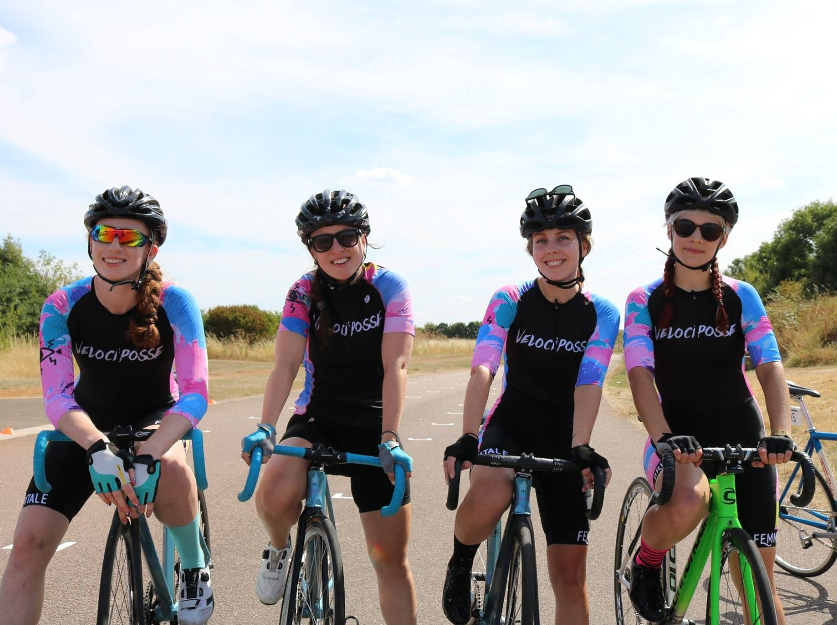 ABOUT US - We've got members of all abilities, from a national champion to women who are new to cycling. We also hold events and skills sessions with the aim of increasing women's participation in cycling.