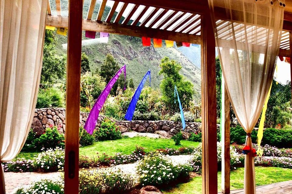 Sacred Awakening, Naples, ID, Yoga Mandala Sacred Valley + Peru Retreat Gardens