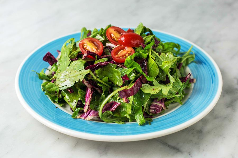 INSALATA DELLA CASA - Mixed market salad and balsamic vinaigrette.
