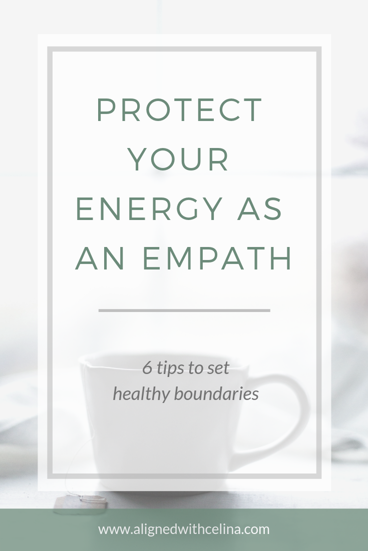 How to protect your energy as an empath
