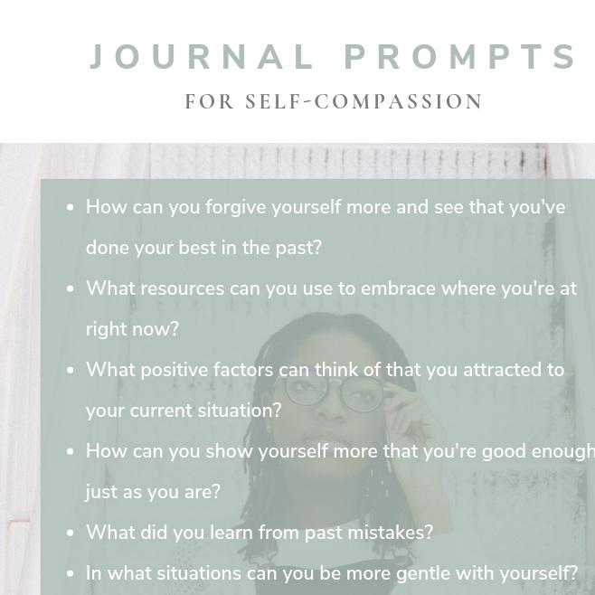 journal prompts self love