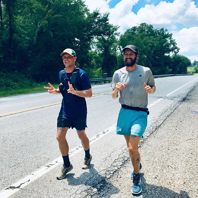 Let's hear it for the extra 5️⃣❗️ 50 miles down for day 78. Beautiful weather. Beautiful company. Beautiful day to be alive. 🏃‍♂️😁 Shout out to @wise.rachel, @6sc_pete, & @tbrownm for joining me on the run today. Each them ran the farthest they've ever run & set new distance PRs. 🙌🙌🙌 Did you get your extra 5️⃣ in yet? . . . #peopleobjective #runforpeople #ultrarunning #runner #runcolumbus #runohio #visitohio #zanesvilleohio #pr #personalrecord #homestate #running #ohio #instarunner #transcontinental #socialjustice #incarceration #reimaginejustice