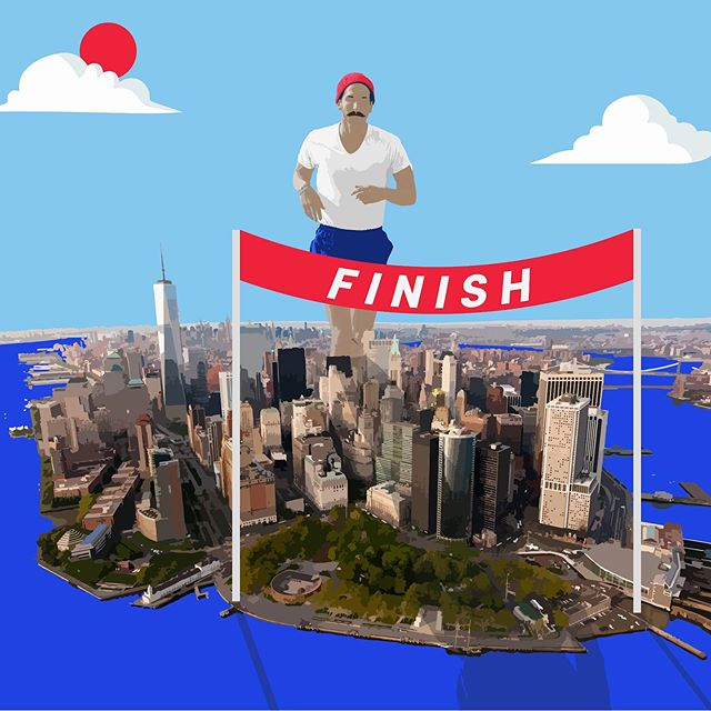And then it was DONE. 🏃♂️🗽🔥 Just ended my 92 day, 2917 mile transcontinental Run for the People. Started on April 21 in Los Angeles and ended today, July 21 in New York City. From the people I met to the miles my feet pounded out to the elements I endured, this was a phenomenal experience. ❤️ Stay tuned for a more in-depth reflection of my journey AND a sneak peek of the documentary the @peopleobjective has been filming along the way ... 👀 . . #missionaccomplished #ultrarunning #coasttocoast #nyc #newyorknewyork #runner #socialjustice #incarceration #reentry #whyirun #instarunner #ultrarun #marathon #teamwork #columbusohio #cbus #midwest #runner