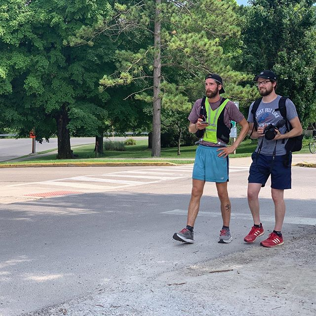 It's hard to believe we are three months out from the end of the run! We are wrapping up filming interviews with people and reflections from @of.cam. We'll post some pics from the journey while we are editing to create content to share with all of you!  This picture was captured during Cam's hot hot 100 mile day through western Ohio.  #reentry #reentrymatters #documentary #documentaryfilm #endurance #ultrarunning #running #runningmotivation #training #perserverance