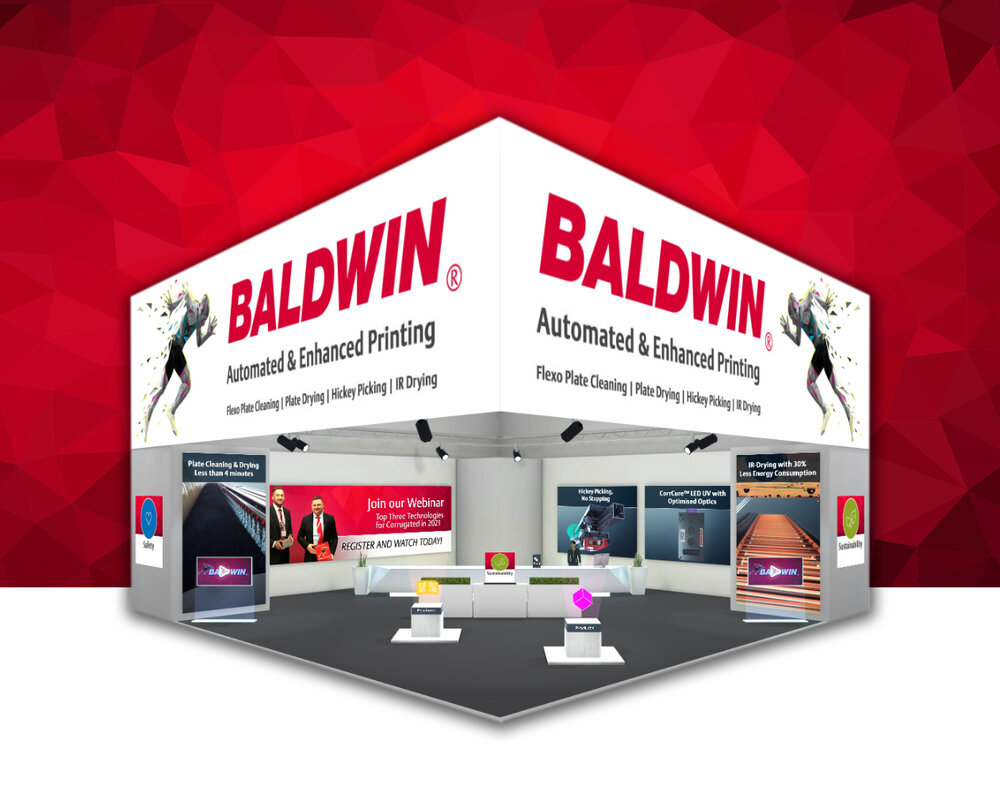 Baldwin Showcases Innovations for Corrugated Flexo Printers at ConneXion