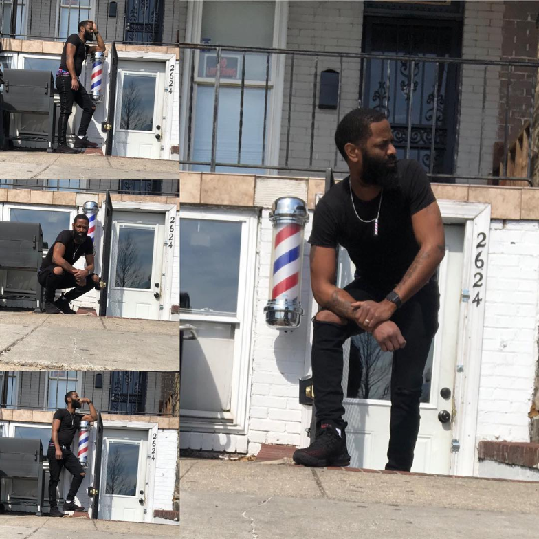 """I quit my day job to work for myself and now I'm the owner and CEO of my own Barbershop"" - - Marlon Harry"