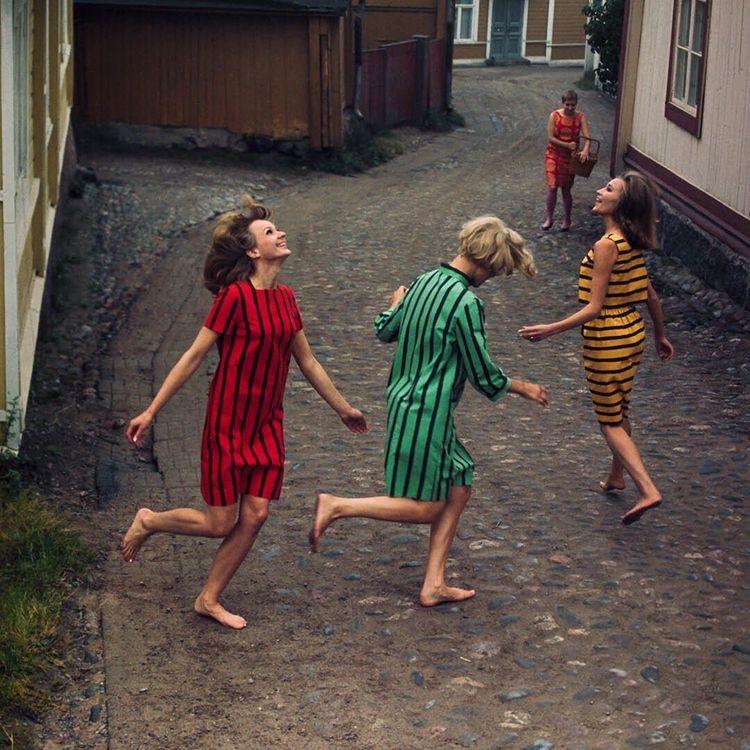 Image by  Tony Vaccaro Studio  via  Marimekko .