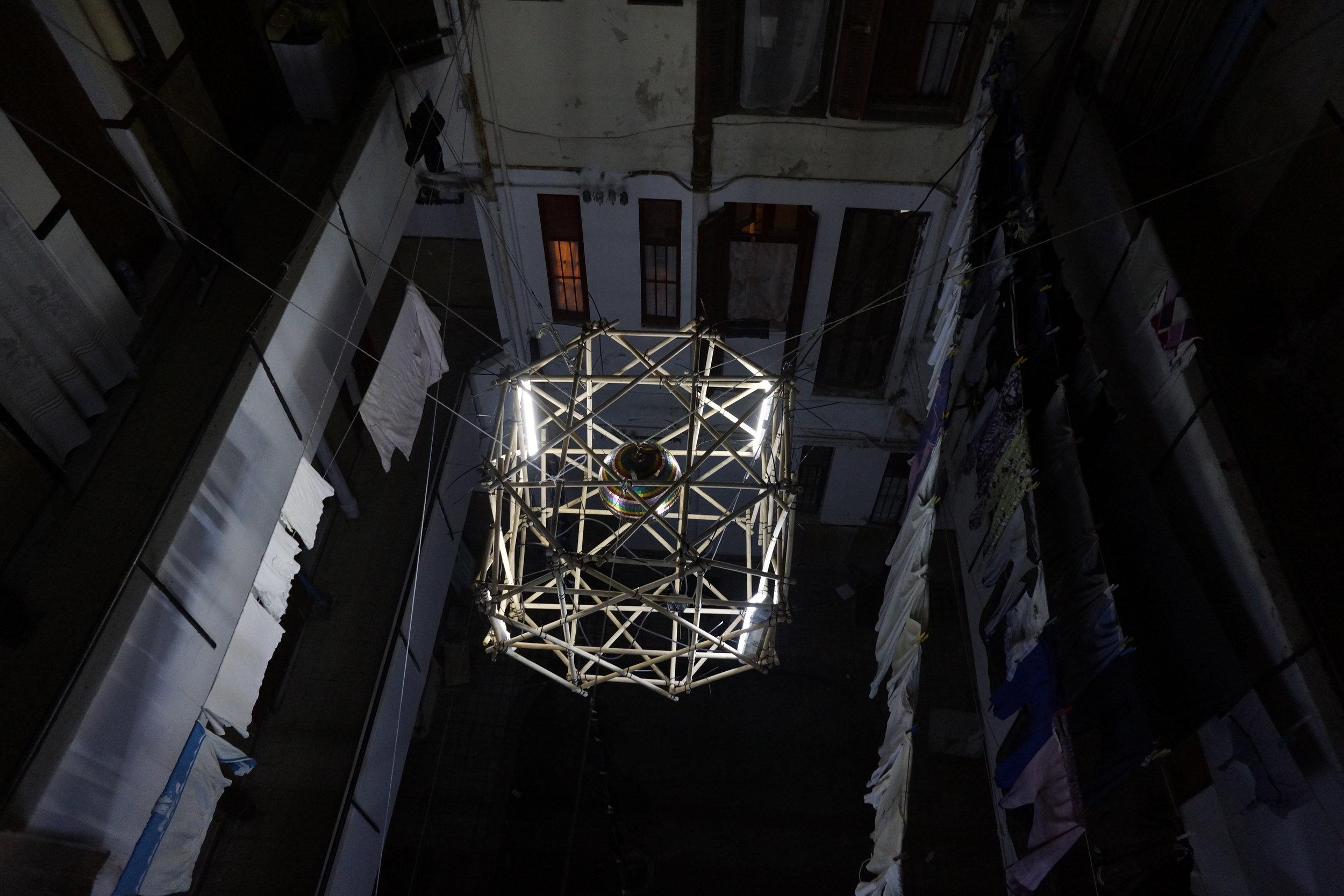 Courtyard Lights