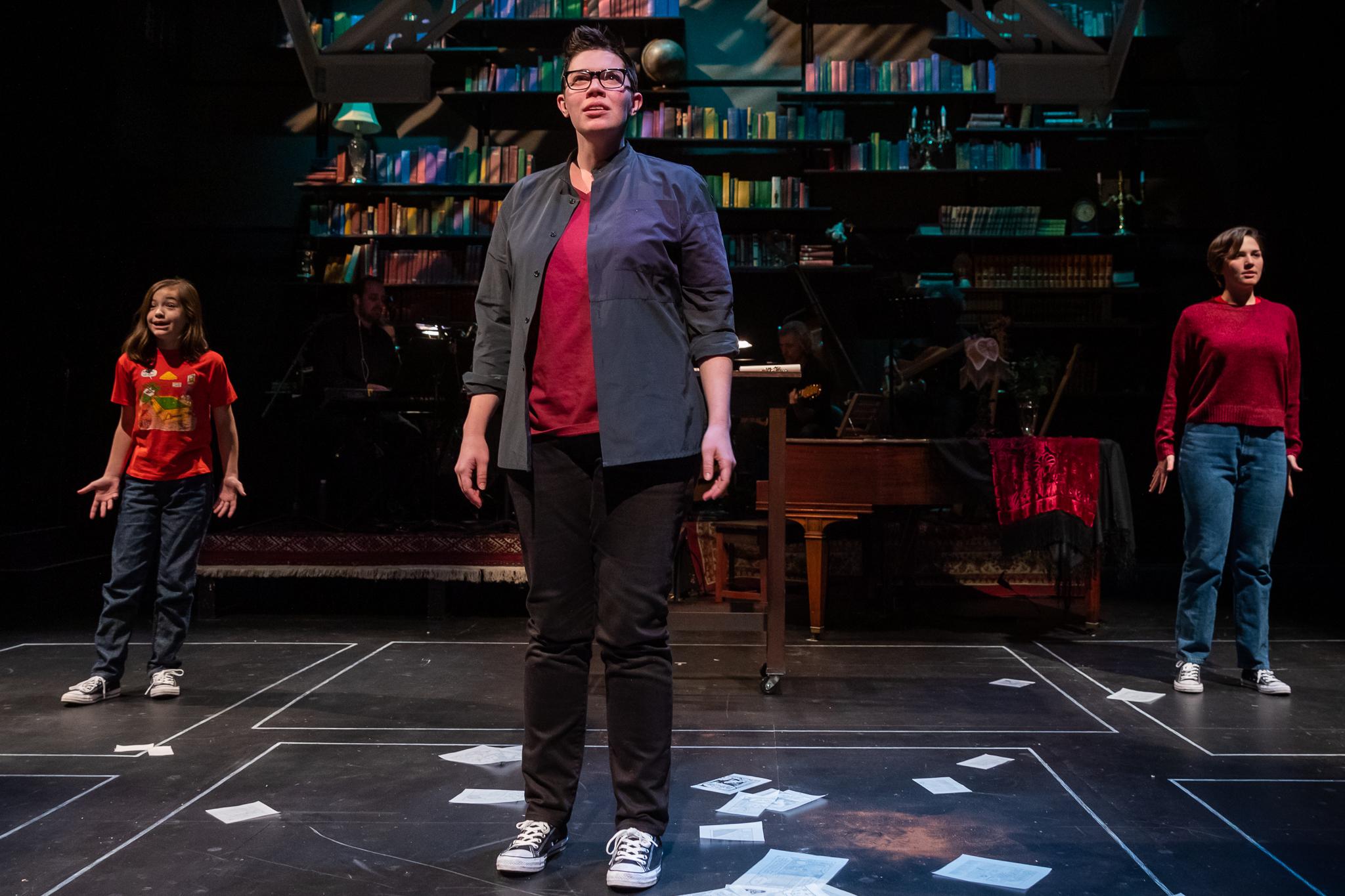 """Amy Jo Jackson is superb.""- The Boston Globe - Allison in Fun Home at Speakeasy Stage"