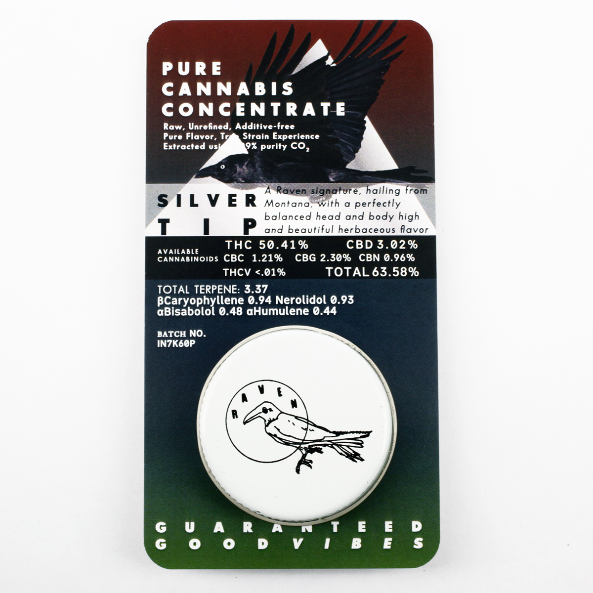 PURE CANNABIS CONCENTRATE — raven