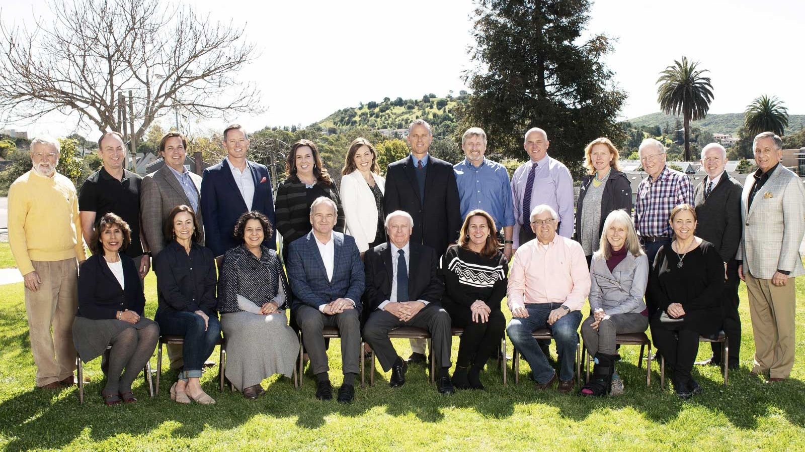 a photo of the board of directors for the San Luis Coastal Education Foundation