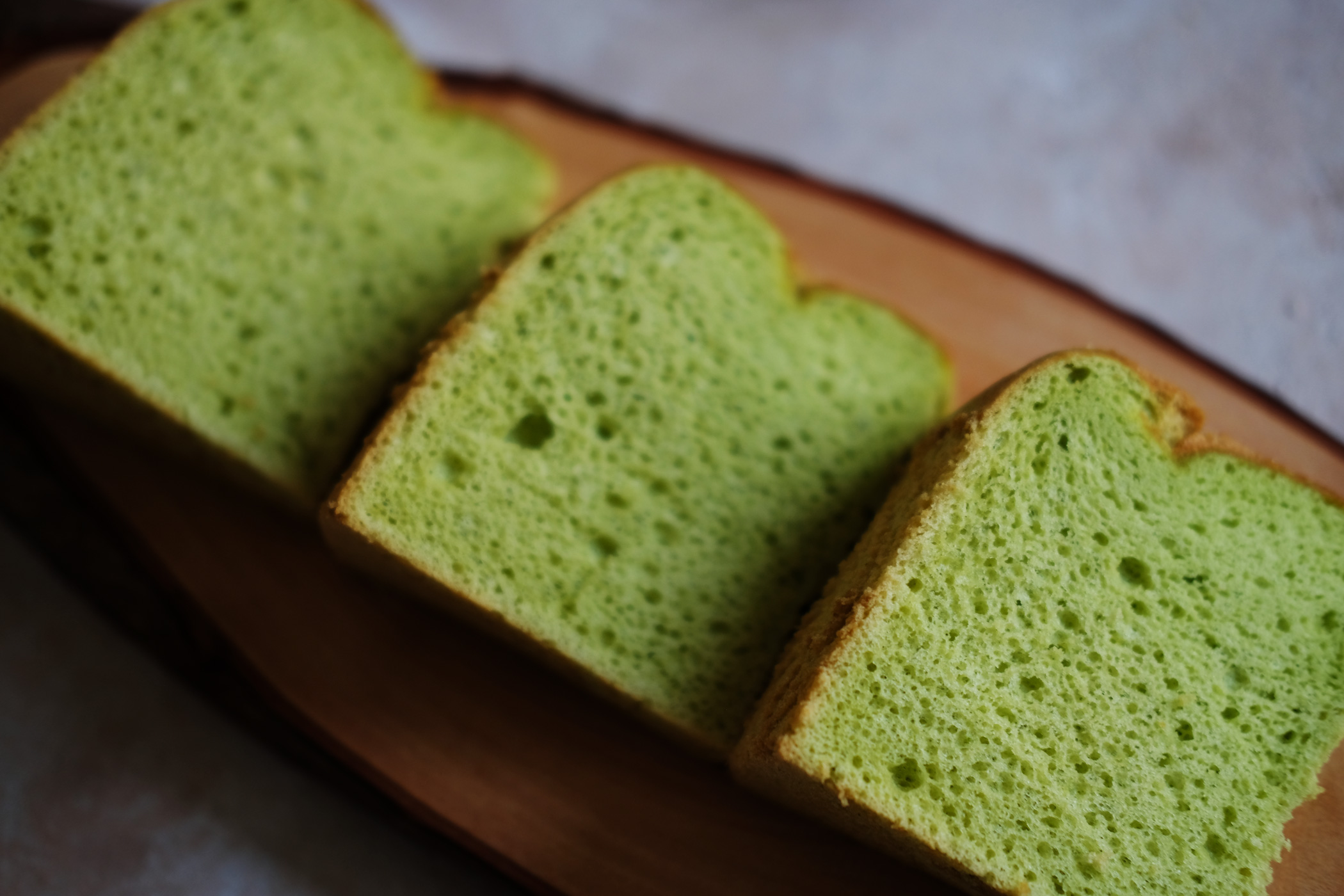 Deliciously green without artificial colouring and flavouring
