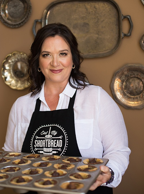Trisha Bower - owner and Queen Baker,  Eat My Shortbread