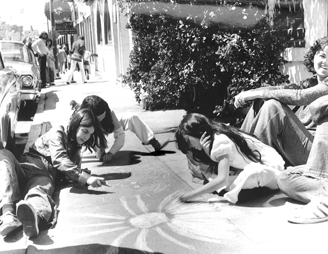 NB Festival History - Children Drawing with Chalk 05.JPG