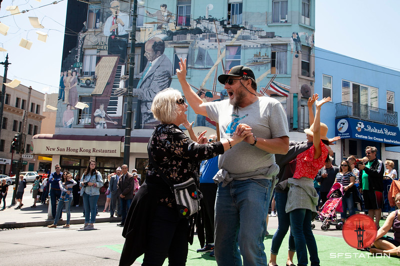 Dancing in the Streets Photo By Cheryl Guerrero for SF Station NB Festival 2018