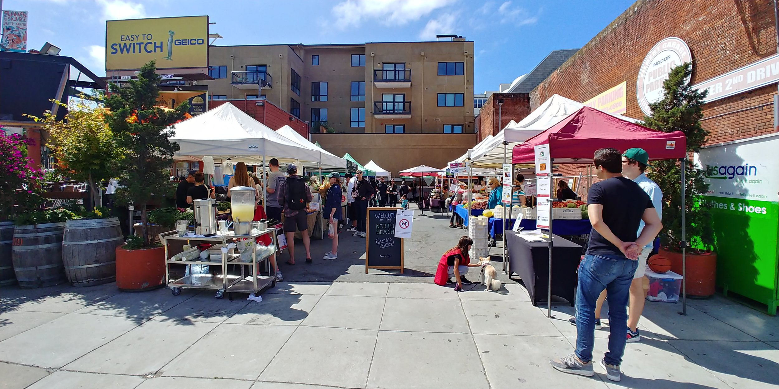 Don't forget to check out the North Beach Farmers Market, every Saturday on the corner of Columbus and Filbert. | Photo: Joe Bonadio