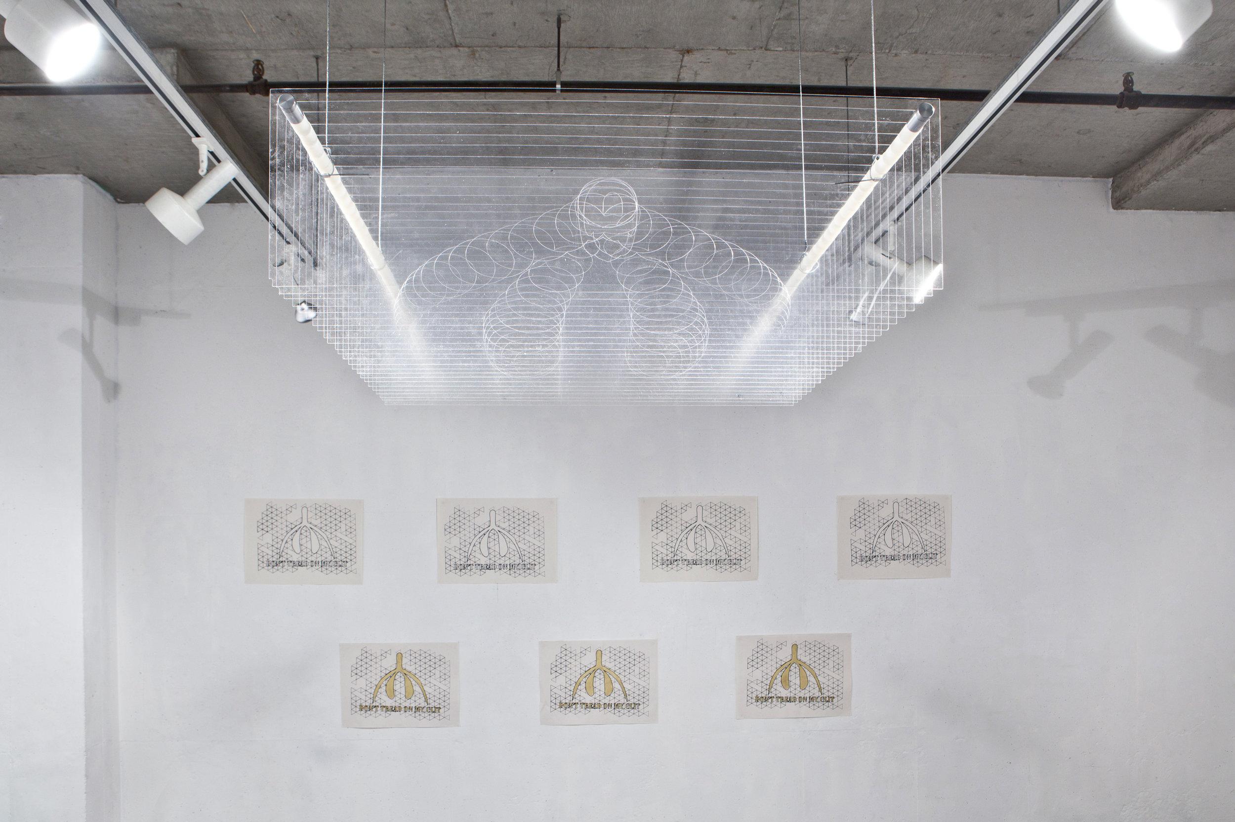 Installation view, Definitely Superior Gallery, 2014
