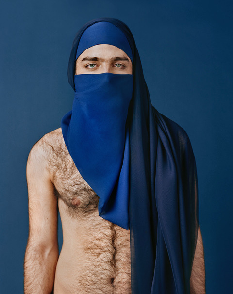 Untitled (Modesty) digital c-print, 18 x 24 in. (45 x 60 cm) 2010