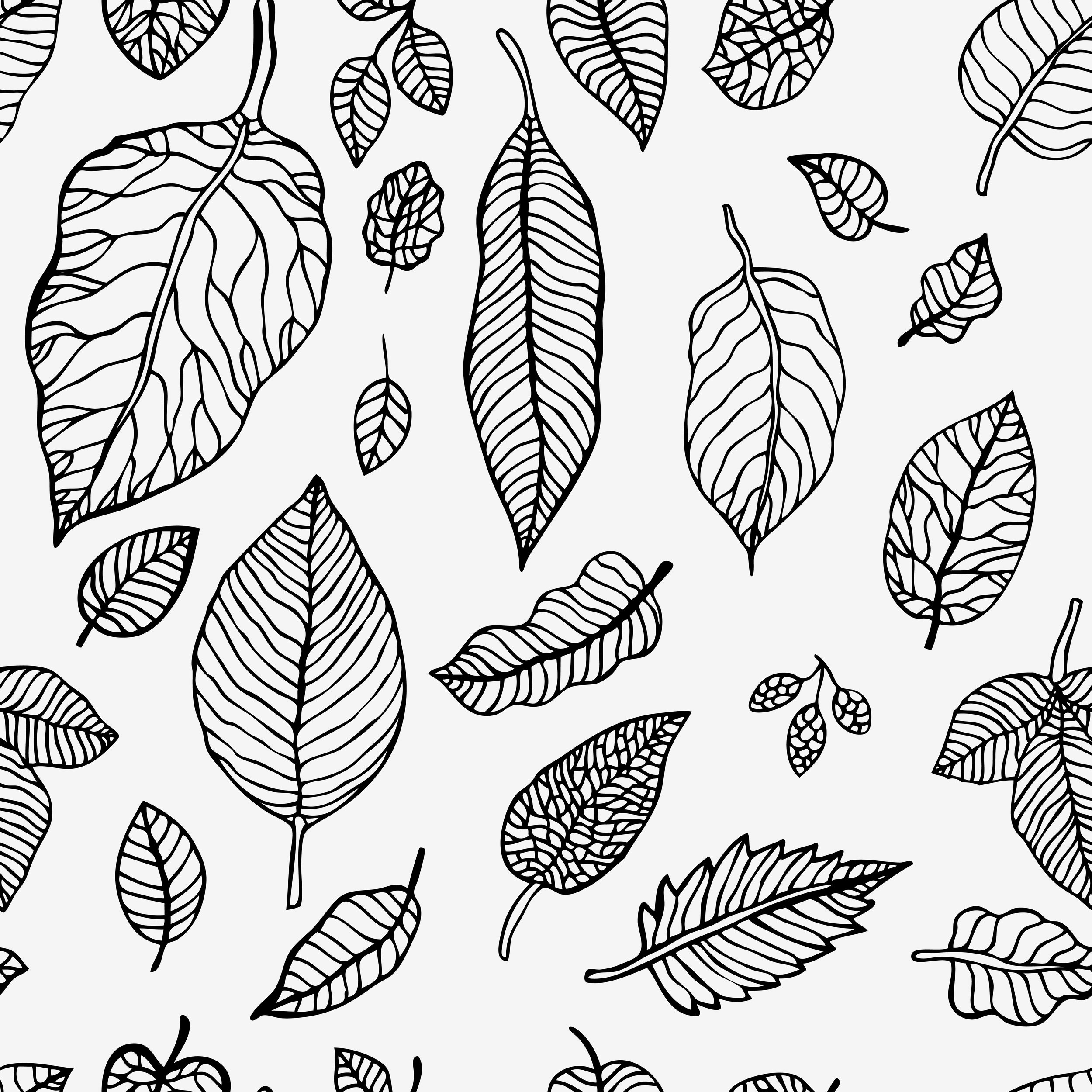 Leaves pattern bw.jpg