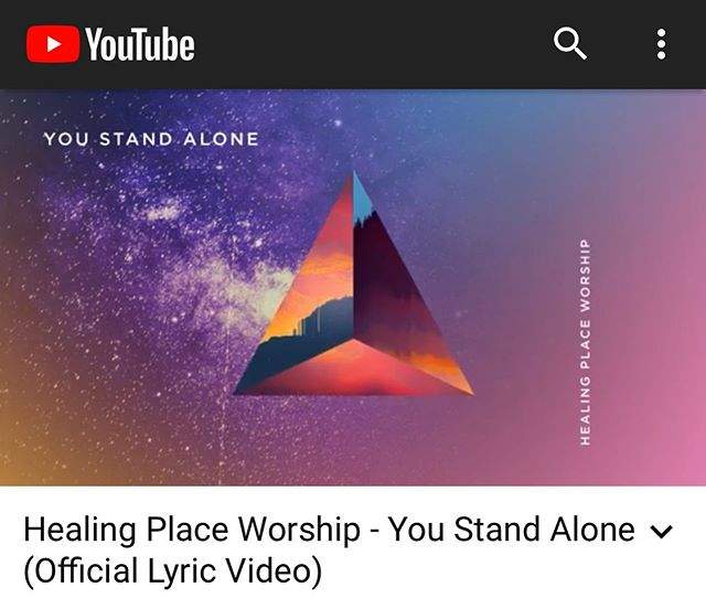 "Just released a lyric video for our new single ""You Stand Alone"". Check it out! Link is in our bio."