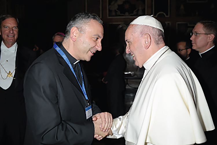 161104-MECC Secretary General Attends Interfaith Audience at the Vatican.jpg