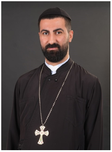 Fr. Charbel Bahi, a member of the Ecumenical Committee for the relief of Beirut representing the Syriac Orthodox Church and designated by His Excellency Daniel Kourieh, the Syriac Orthodox Archbishop of Beirut