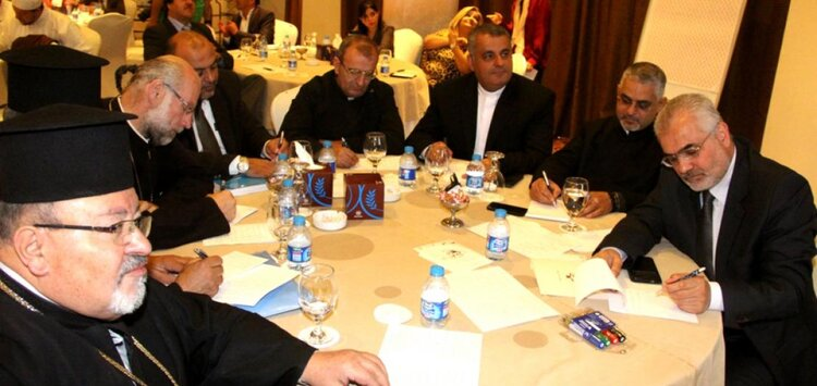 """""""The Role of the Clergy in Protecting the Environment"""" Workshop - ©Abouna.org website"""