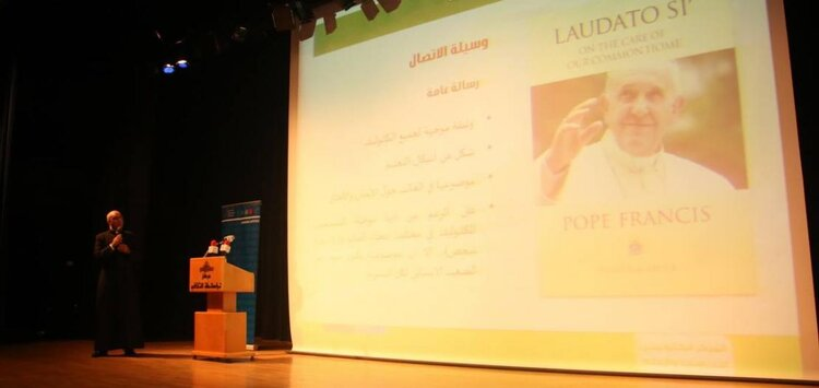 """""""Environment: The Common Home of Humanity"""" Conference - ©Abouna.org website"""