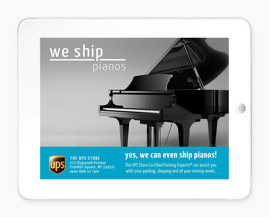 We Ship Pianos