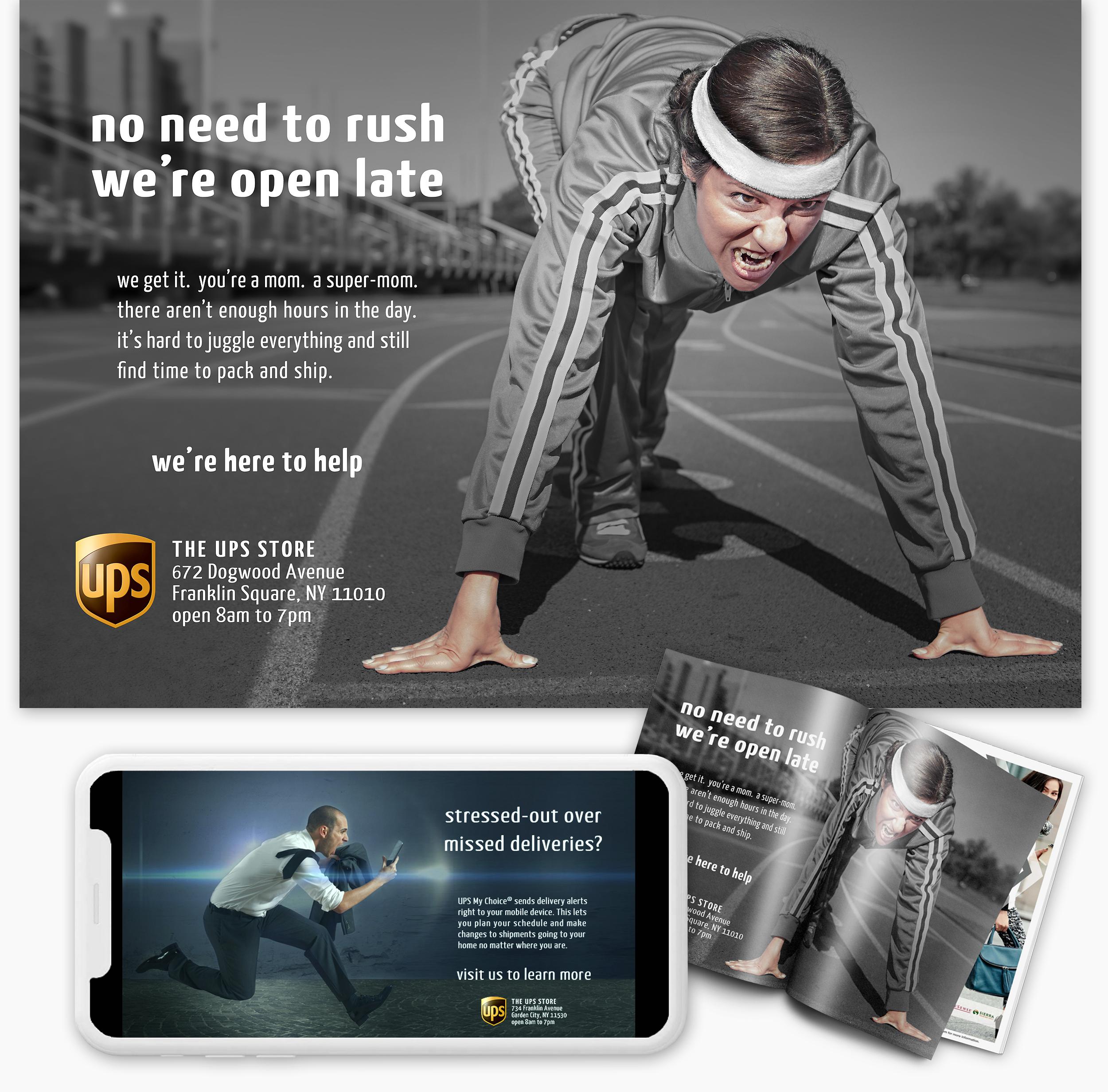 The UPS Store Print & Digital Ads