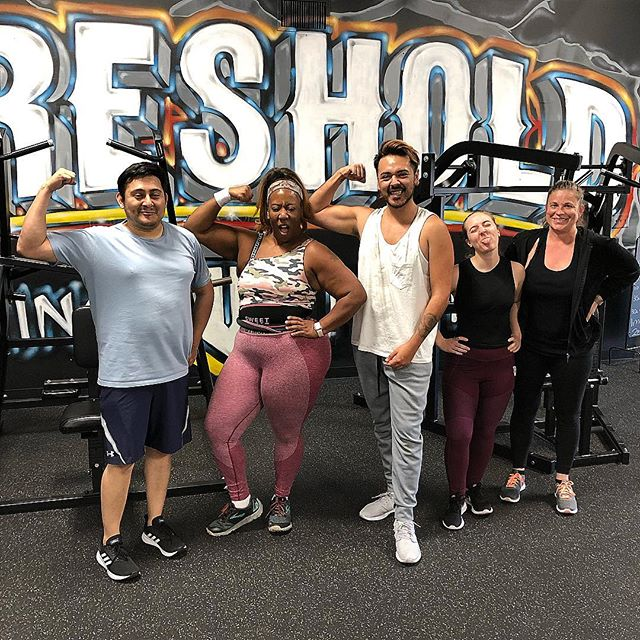 Thresholds fam Just finished their Friday morning workout! - Make sure you message us for any information on our training!