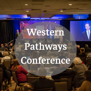 The Western Pathways Conference is an annual event for leaders in education, non profit, business and government that asks the question:  how can we build an education and workforce development system that will prepare all young adults for careers leading in economic independence?