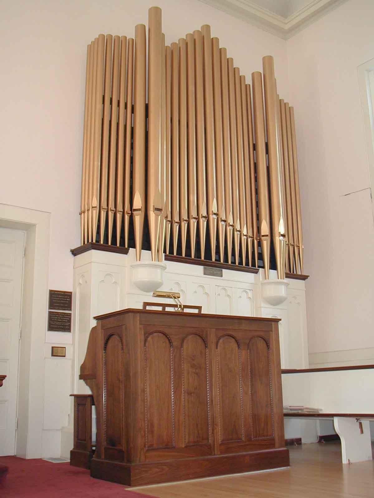Aeolian-Skinner Organ at First Congregational Church, Milton, MA