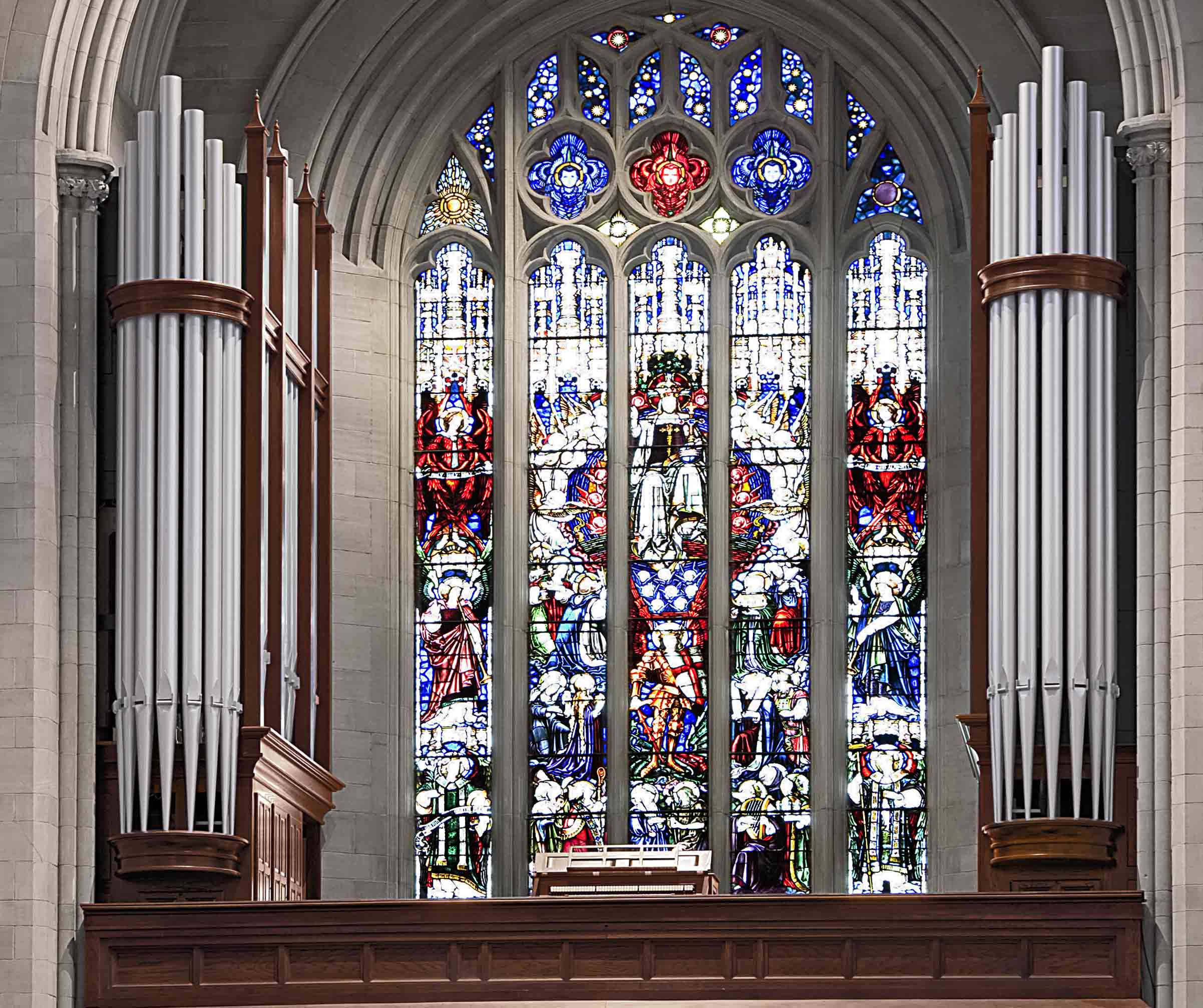 New Antiphonal division, St. John's Cathedral, Denver, Colorado