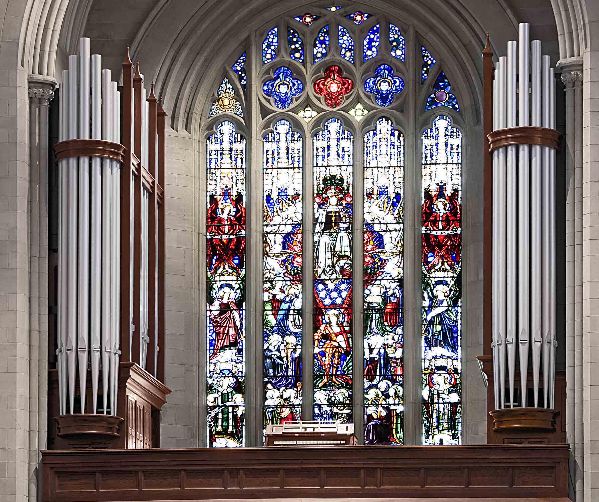 New Antiphonal organ made by Spencer Organ Company, St. John's Cathedral, Denver, Colorado
