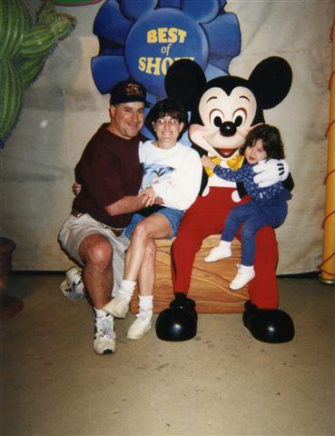 One trip to Disney.