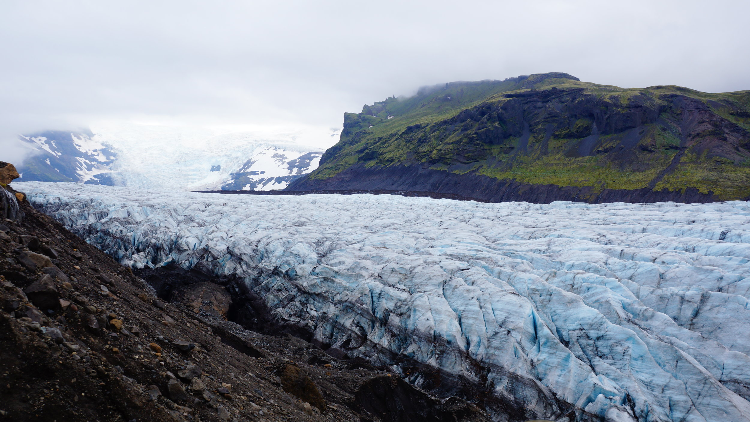 Islannissa on Euroopan suurimmat jäätiköt, jotka ovat vetäytymässä ennätystahtia.