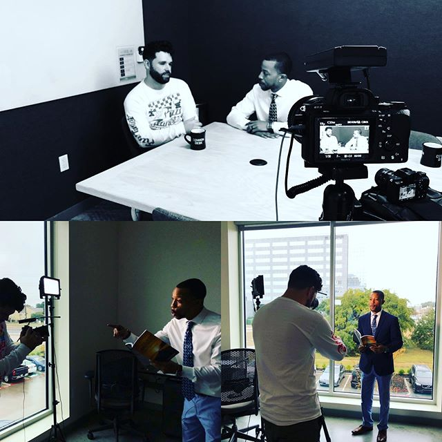 Spent today doing what I love: creating content for incredible people like @Vic torvjohnson , and I even got a chance to get in front of the camera to talk about how our business relationship is based off of what we give to each other versus what we get from each other. It's lead to a great friendship and mentorship for me. Thanks Vic! #commondeskaddison #commondesk #dfw #dallasfortworth #addison #dallasvideographer #dallasvideoproduction #dallasentrepreneurs #dallascreditrepair
